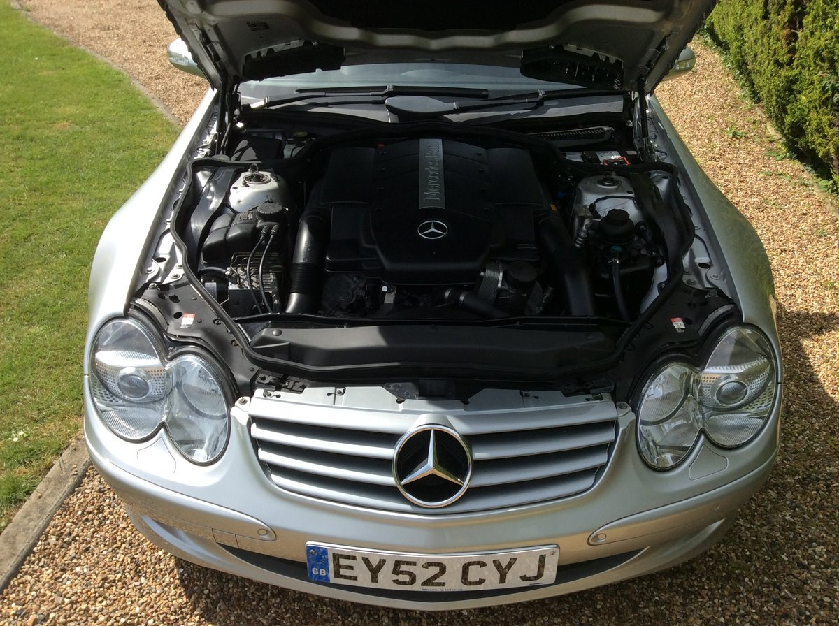 2002 Mercedes SL 500, Just 2 Private Owners, Superb! SOLD (picture 4 of 6)