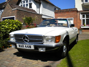 1980 Mercedes SL 350 Auto For Sale