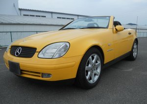 2000 MERCEDES-BENZ SLK KOMPRESSOR 2.3 SUPERCHARGED CONVERTIBLE *