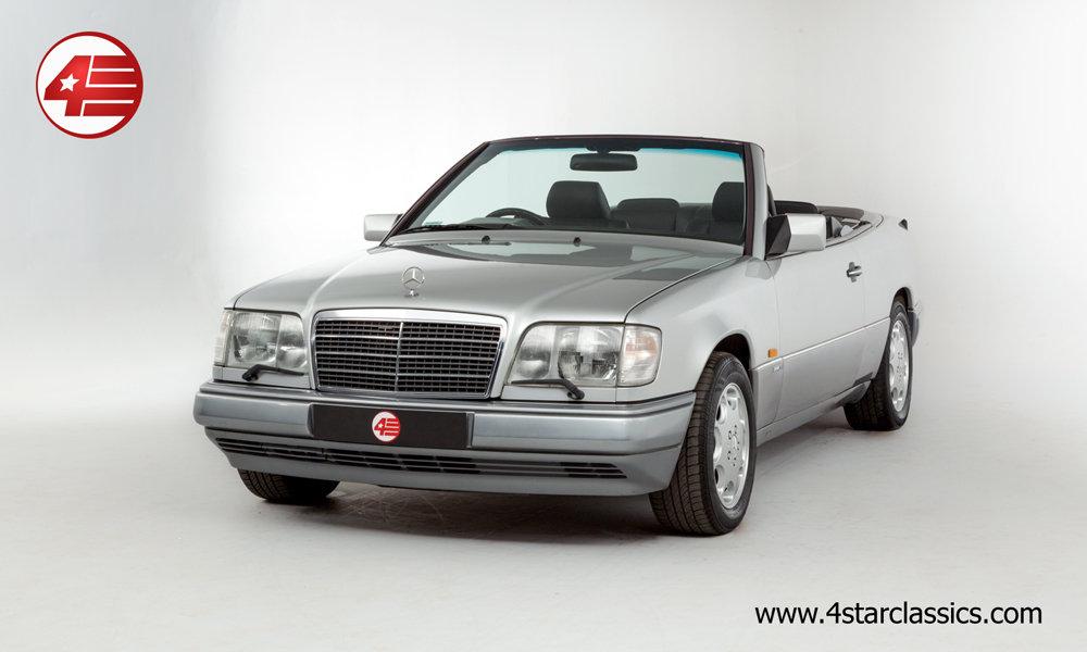 1994 Mercedes E320 Sportline Cabriolet /// 36k Miles For Sale (picture 1 of 6)