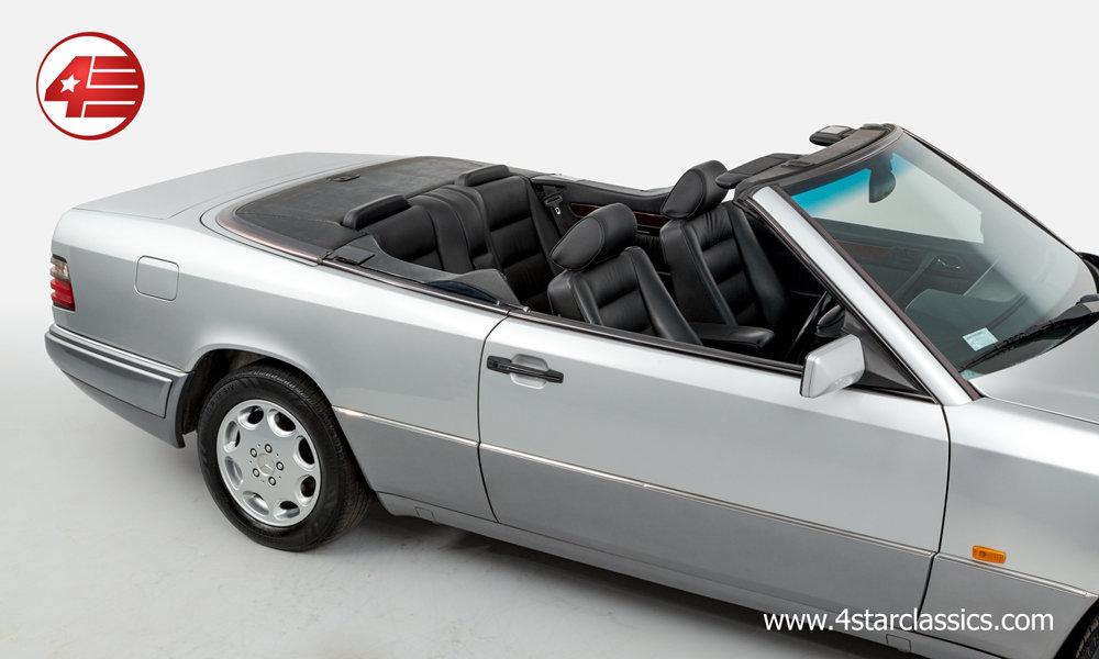 1994 Mercedes E320 Sportline Cabriolet /// 36k Miles For Sale (picture 2 of 6)
