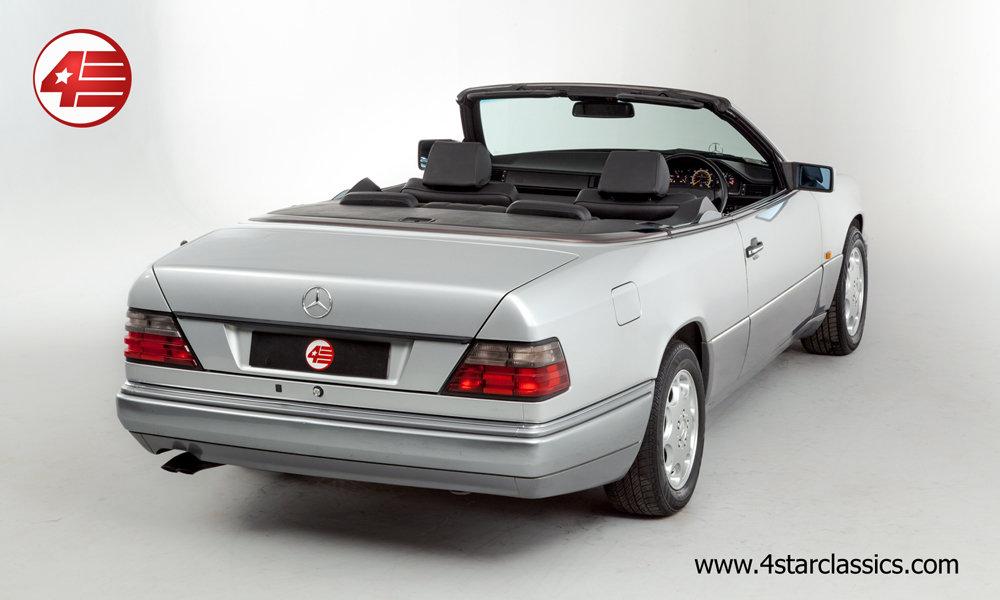 1994 Mercedes E320 Sportline Cabriolet /// 36k Miles For Sale (picture 3 of 6)