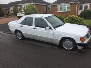 1992 Mercedes 190e Auto 1.8 For Sale