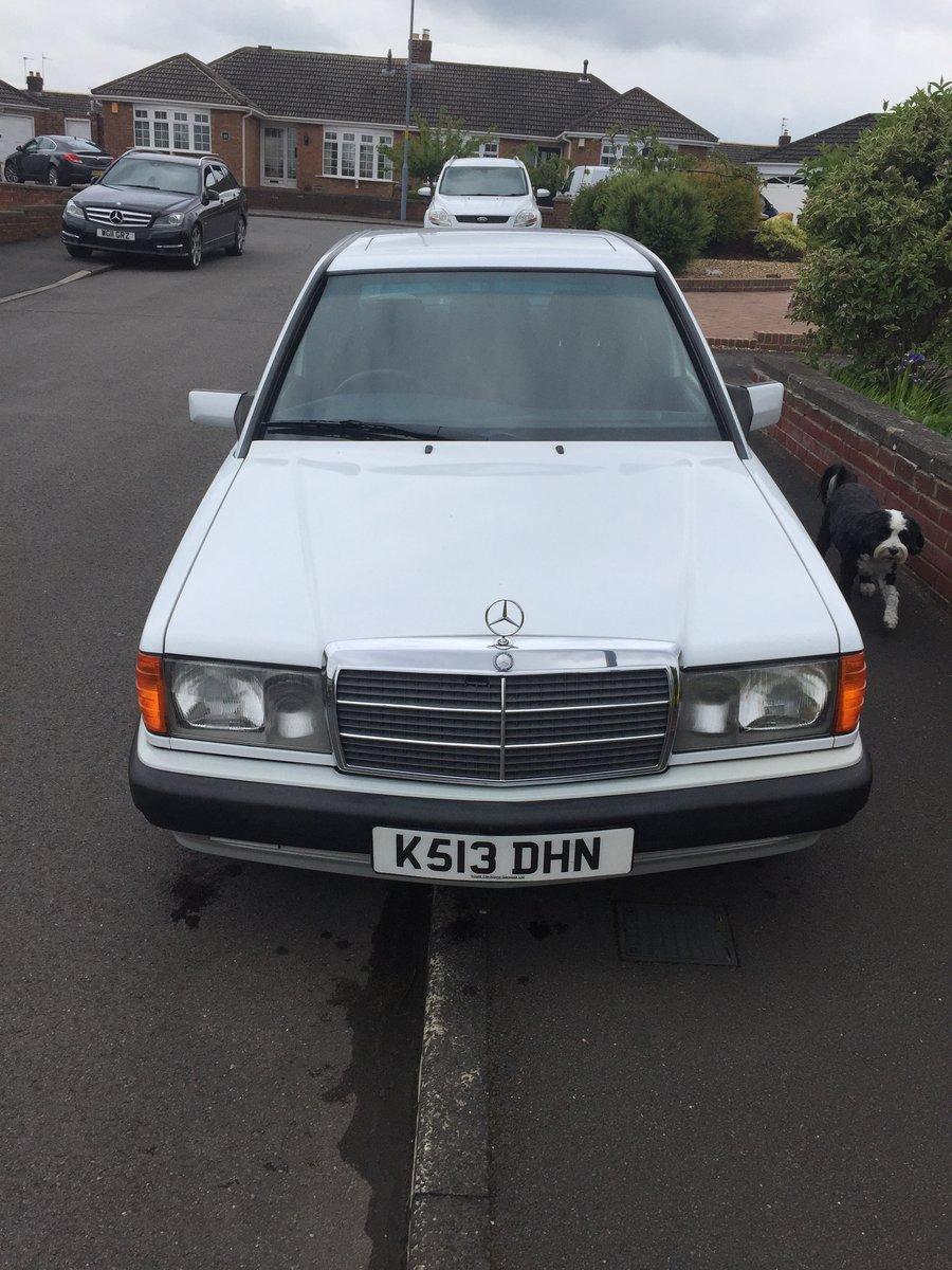 1992 Mercedes 190e Auto 1.8 For Sale (picture 2 of 6)