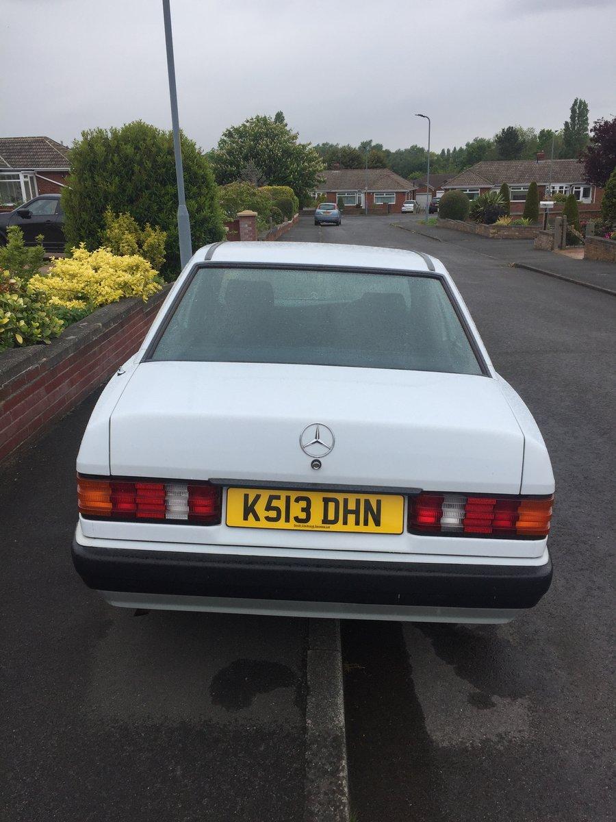 1992 Mercedes 190e Auto 1.8 For Sale (picture 3 of 6)