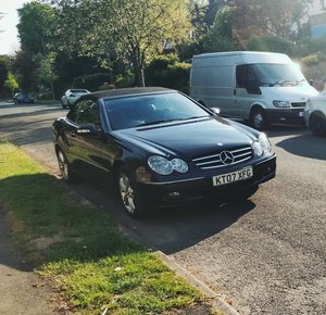 2007 Mercedes-Benz CLK  200 Kompressor For Sale