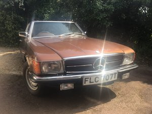 Mercedes 350sl hard/soft top 1978T For Sale