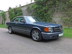 1989 Mercedes W126 560SEC Auto at ACA 15th June  For Sale