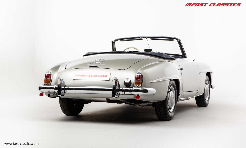 1962 MERCEDES 190SL // EU MODEL // MATCHING NUMBER // NUT & BOLT For Sale (picture 3 of 6)