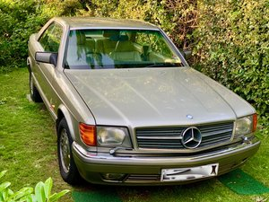 1990 Rare 560 SEC with history SOLD