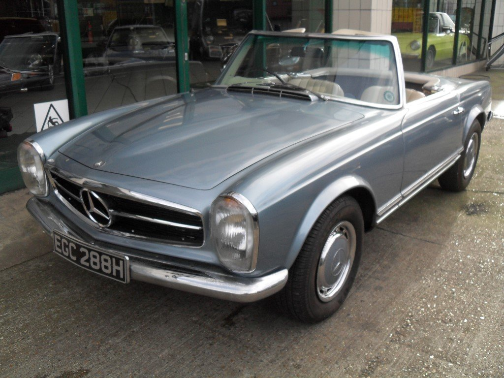 1969 Mercedes Benz 280SL Pagoda For Sale (picture 1 of 5)