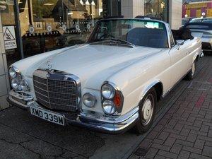 1974 Mercedes 280 SE 3.5 Cabriolet