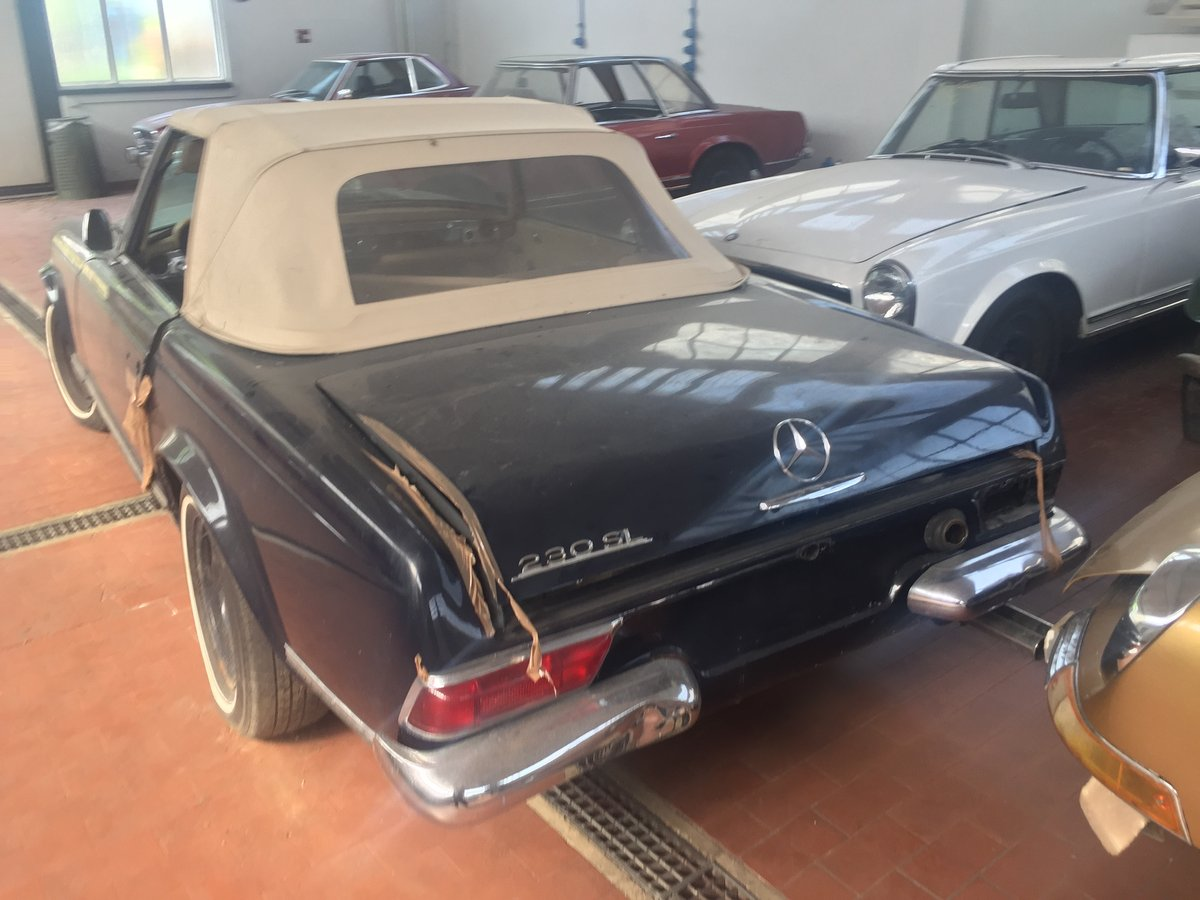 Mercedes 230 Sl Pagoda 1966 For Sale (picture 3 of 6)