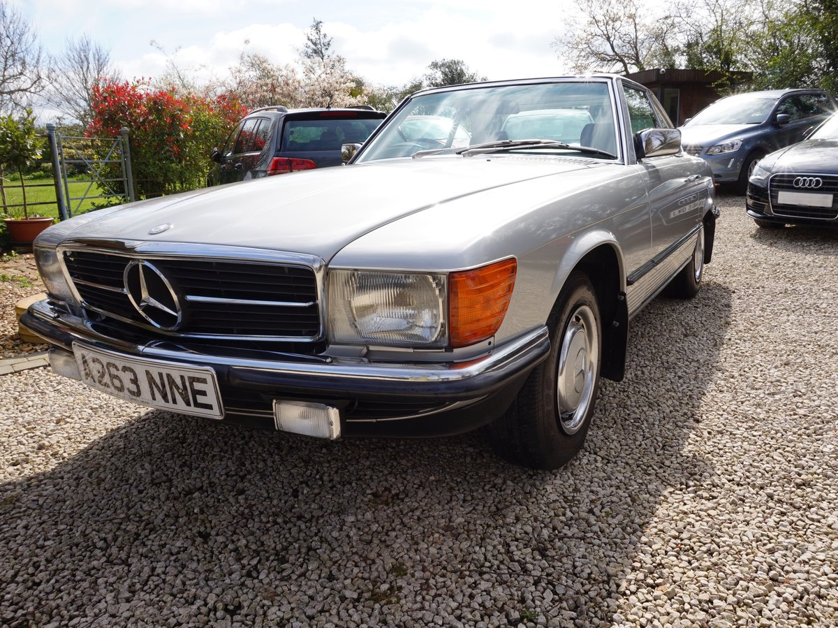 1984 Outstanding Mercedes 280 SL Auto For Sale (picture 1 of 6)