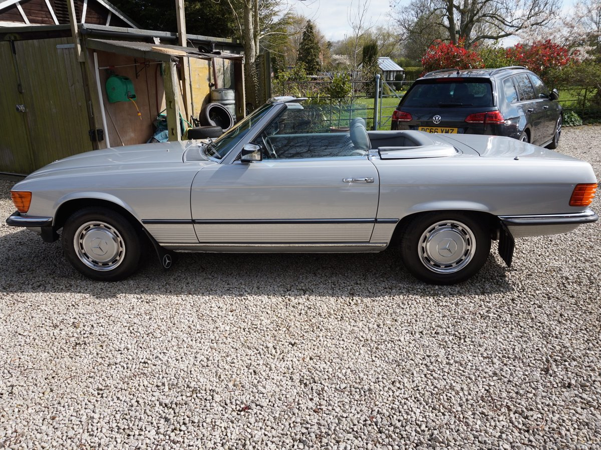 1984 Outstanding Mercedes 280 SL Auto For Sale (picture 3 of 6)