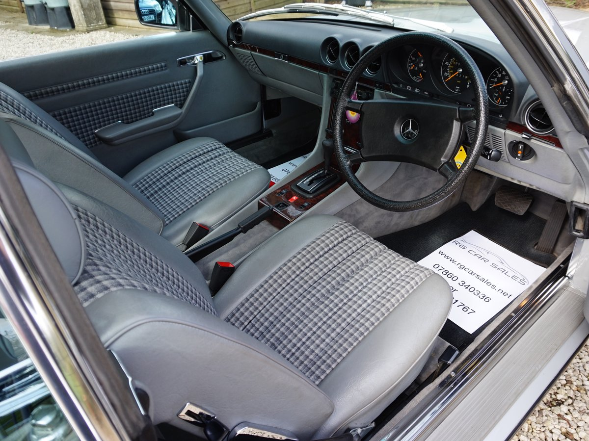 1984 Outstanding Mercedes 280 SL Auto For Sale (picture 4 of 6)