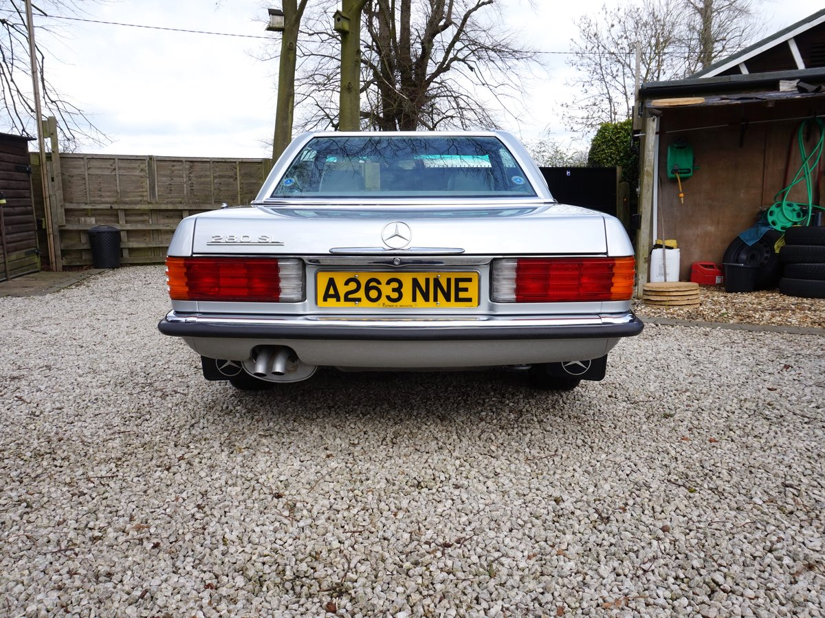 1984 Outstanding Mercedes 280 SL Auto For Sale (picture 5 of 6)