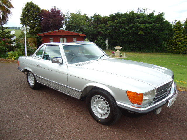 Mercedes 380SL 1984 For Sale (picture 1 of 6)