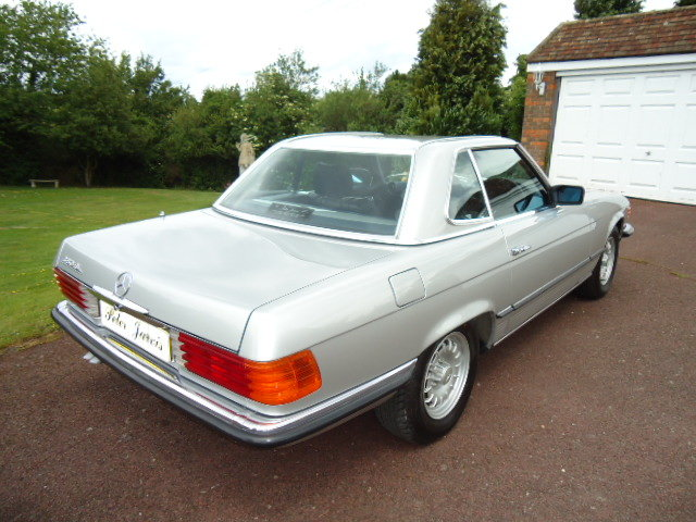 Mercedes 380SL 1984 For Sale (picture 2 of 6)