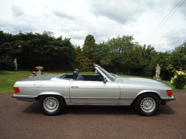 Mercedes 380SL 1984 For Sale (picture 3 of 6)