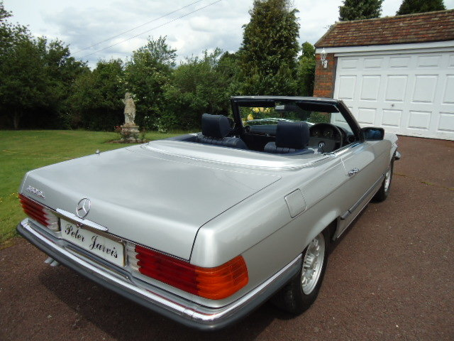 Mercedes 380SL 1984 For Sale (picture 4 of 6)