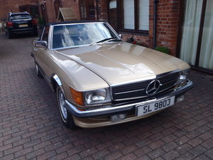 1980 Mercedes 450 SL For Sale