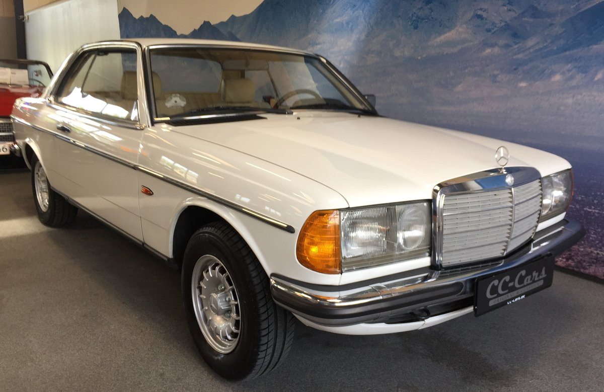 1983 Mercedes 230 CE Automatic SOLD (picture 1 of 6)