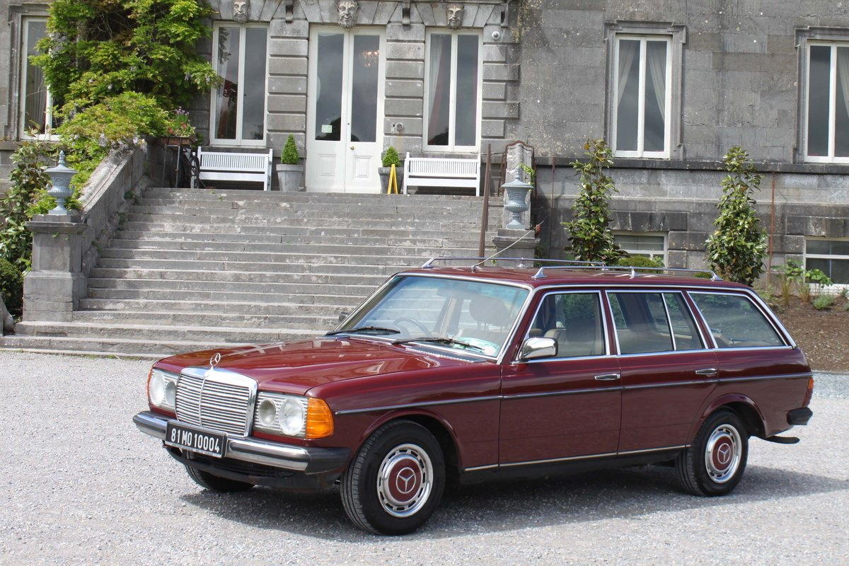 The Jazzy Badger – 1981 MERCEDES W123 230 TE EST For Sale (picture 1 of 6)