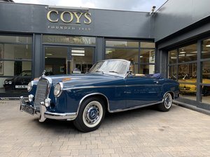 1960 Mercedes-Benz 220 SE Cabriolet - 1 of 17 RHD examples For Sale