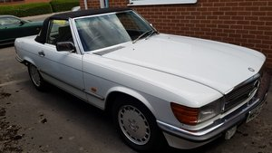 1989 MERCEDES 300SL CABRIOLET FULL LEATHER Low Miles.. Reduced For Sale
