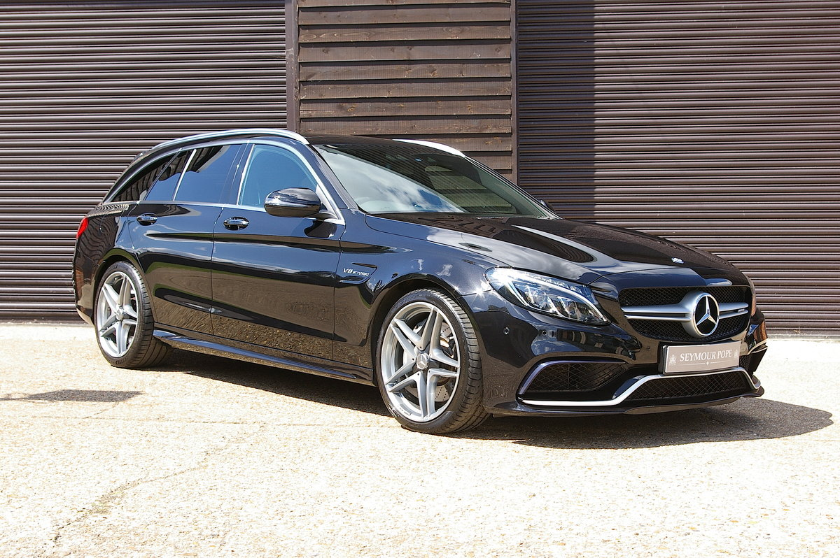 2015 Mercedes C63 AMG 4.0 V8 (Premium) Estate Auto (29,892 miles) SOLD (picture 1 of 6)