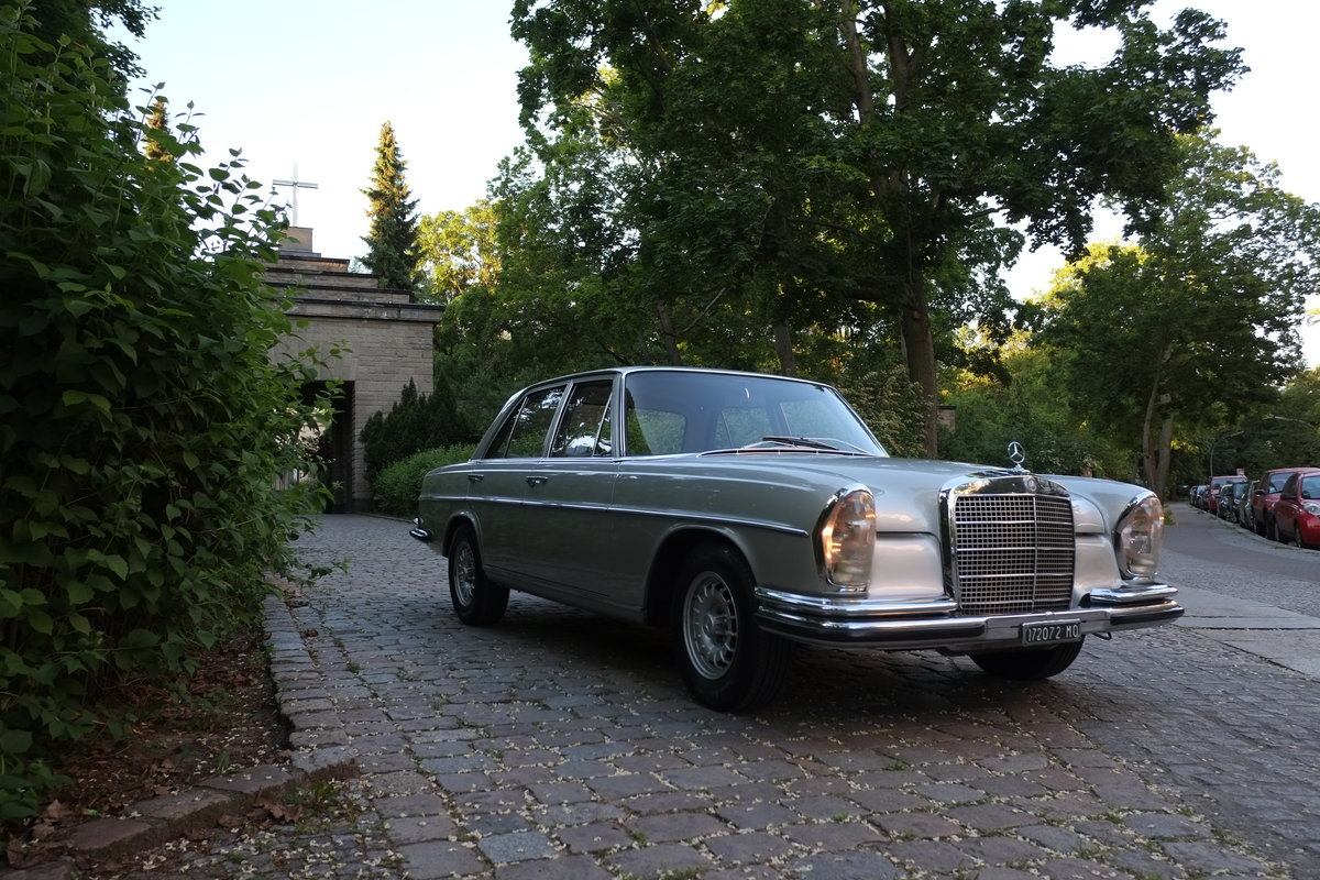 1968 Mercedes W108 280S Manual For Sale (picture 2 of 6)