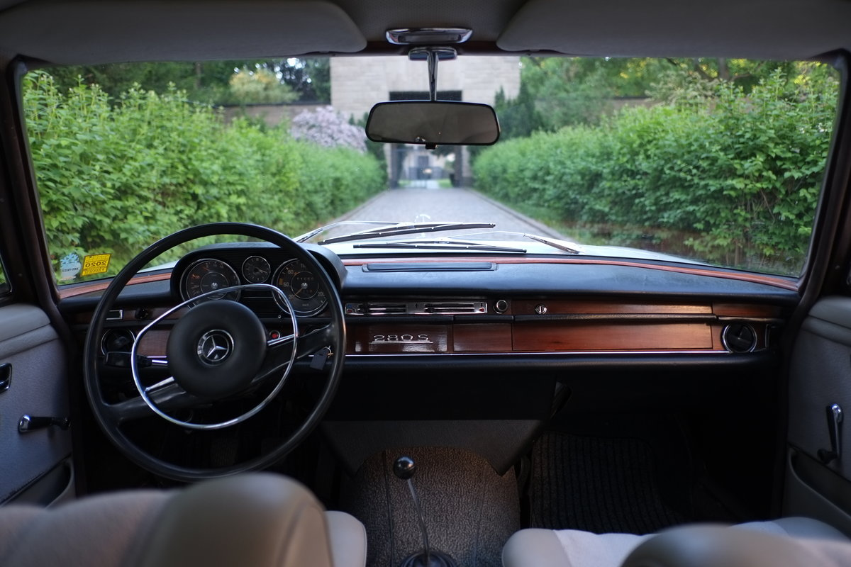 1968 Mercedes W108 280S Manual For Sale (picture 3 of 6)