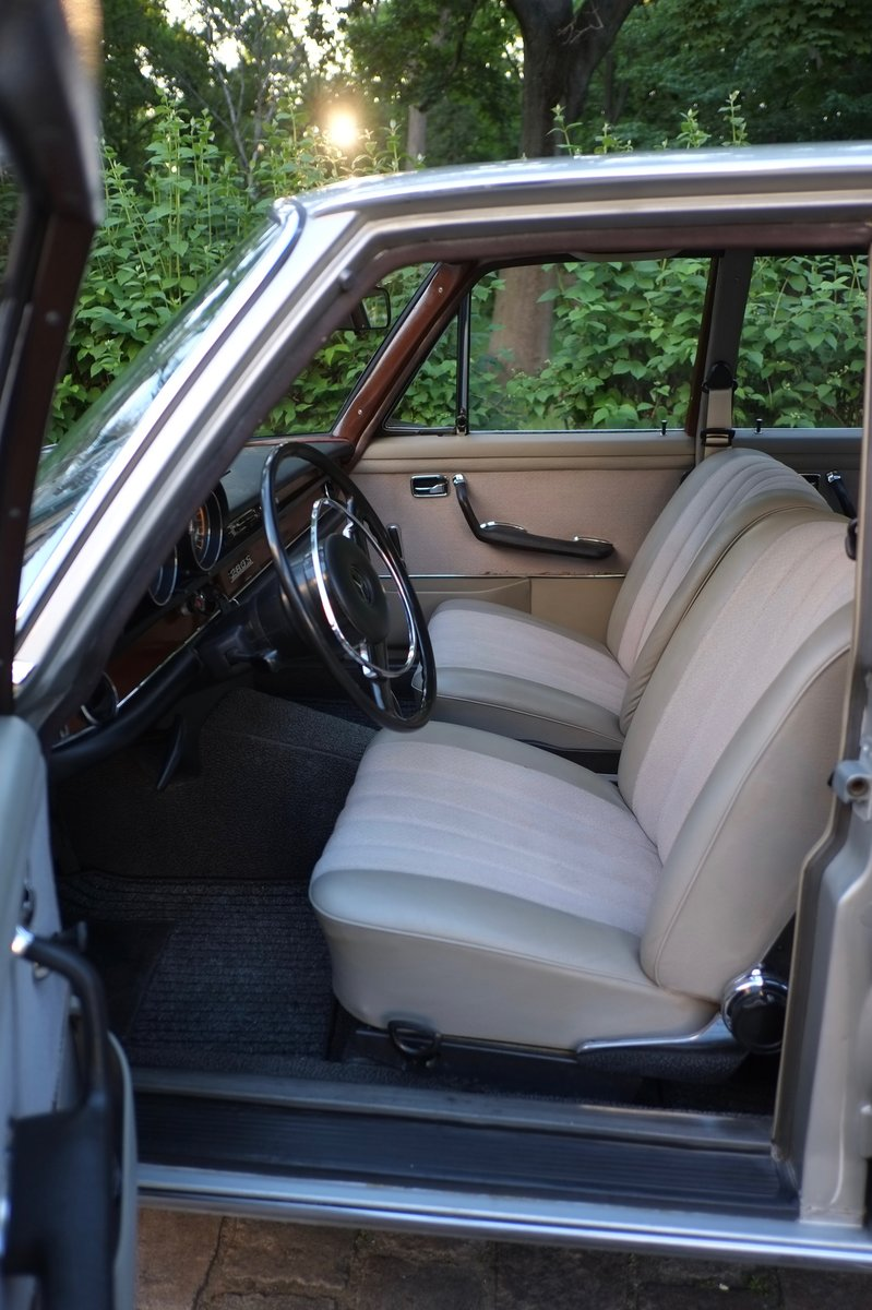 1968 Mercedes W108 280S Manual For Sale (picture 4 of 6)