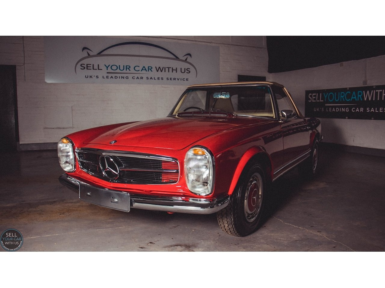 1967 Mercedes 250 SL PAGODA 2.5 2dr Convertiable Manual Petrol For Sale (picture 1 of 6)