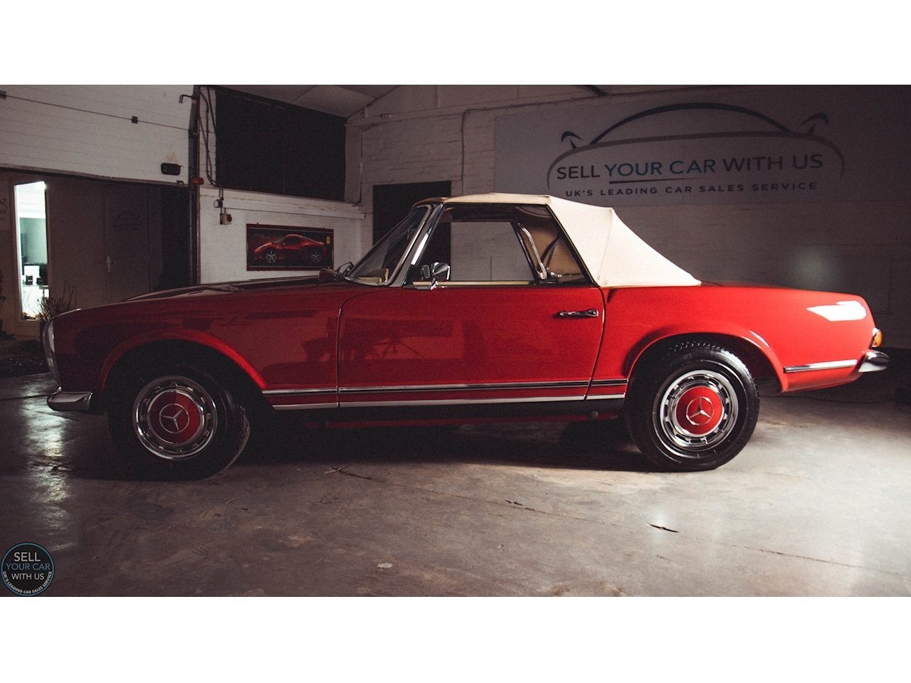1967 Mercedes 250 SL PAGODA 2.5 2dr Convertiable Manual Petrol For Sale (picture 3 of 6)