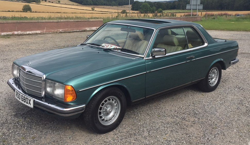 1981 Mercedes-Benz 280CE Coupe  For Sale (picture 1 of 6)