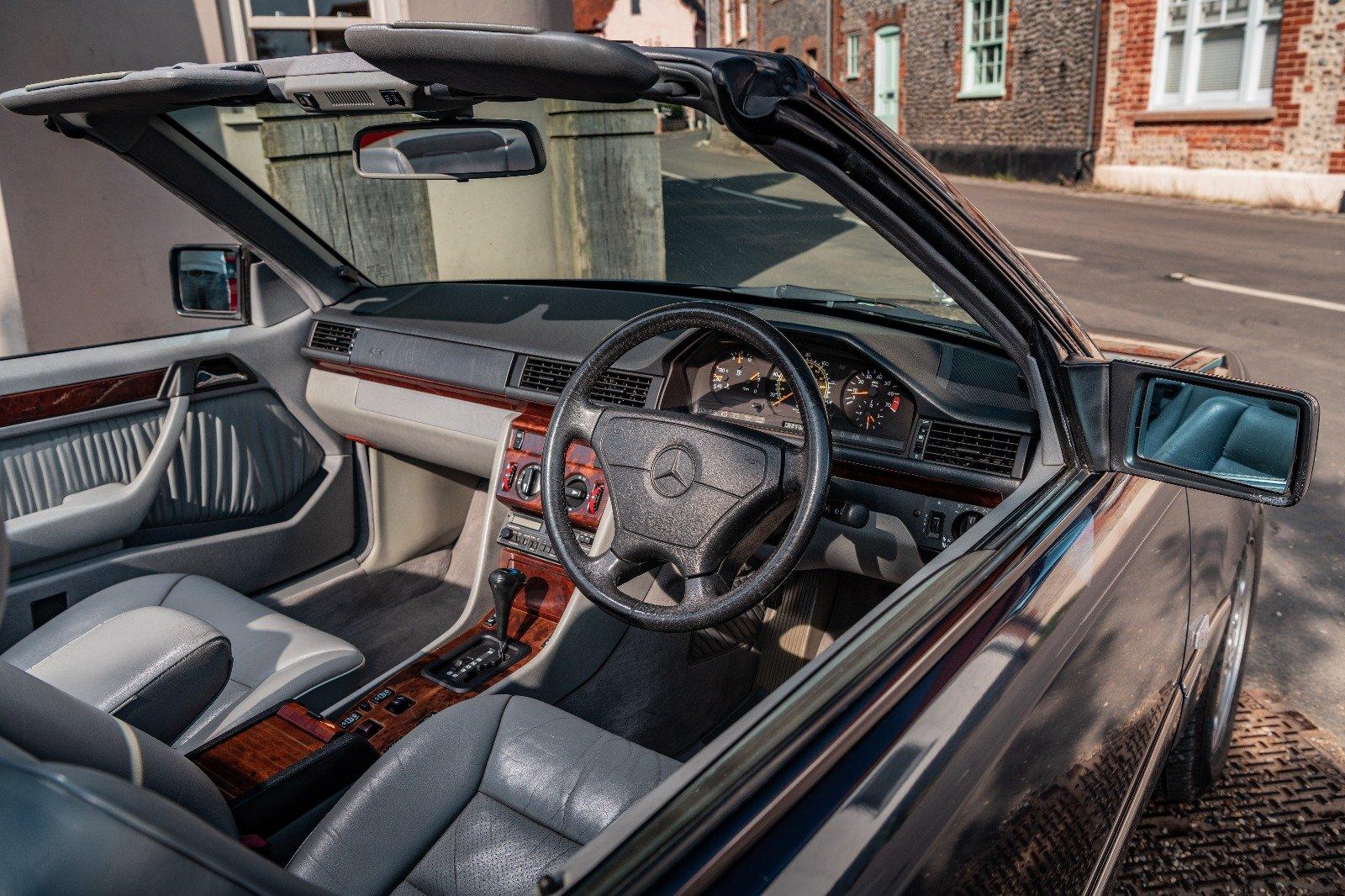 1996 E220 Sportline Cabriolet  96K - Magazine Cover Car For Sale (picture 5 of 6)