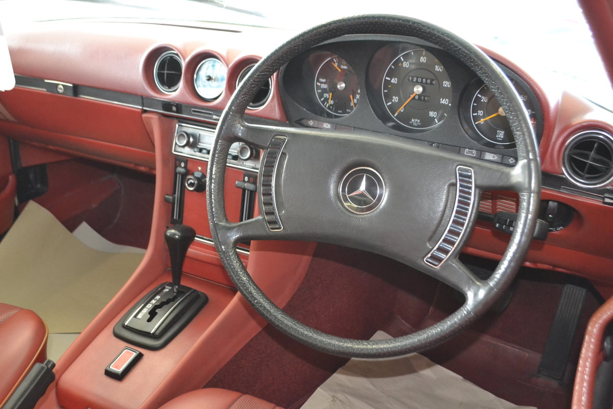 1972 Mercedes SL350 with Hardtop - recently renovated  For Sale (picture 7 of 23)