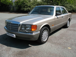 Mercedes Benz 500SE W126 1991 'H' Reg, Auto, Just 99k miles! For Sale