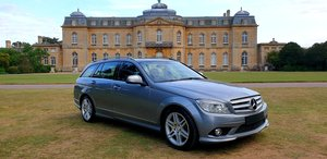 2008 LHD MERCEDES C220 AUTOMATIC ESTATE AMG SPORT LEFT HAND DRIVE For Sale