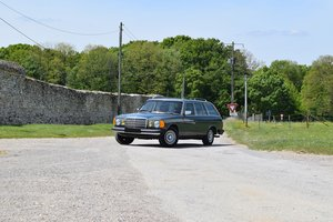 1983 – Mercedes 280 TE  For Sale by Auction