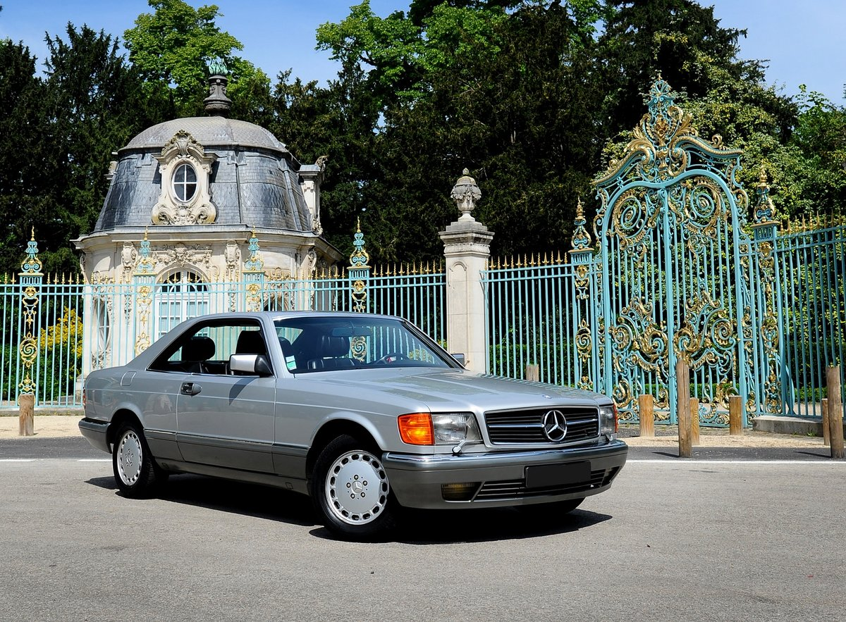 1990 – Mercedes 500 SEC SOLD by Auction (picture 1 of 5)