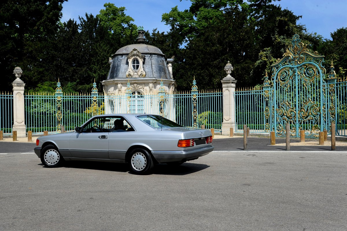 1990 – Mercedes 500 SEC SOLD by Auction (picture 2 of 5)