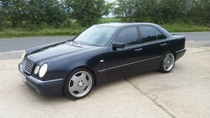 1999 Mercedes Benz E55 AMG W210 V8 Sports Saloon For Sale