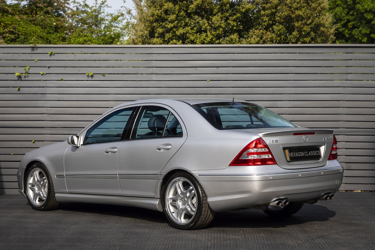 2004 Mercedes C55 AMG SOLD (picture 6 of 6)