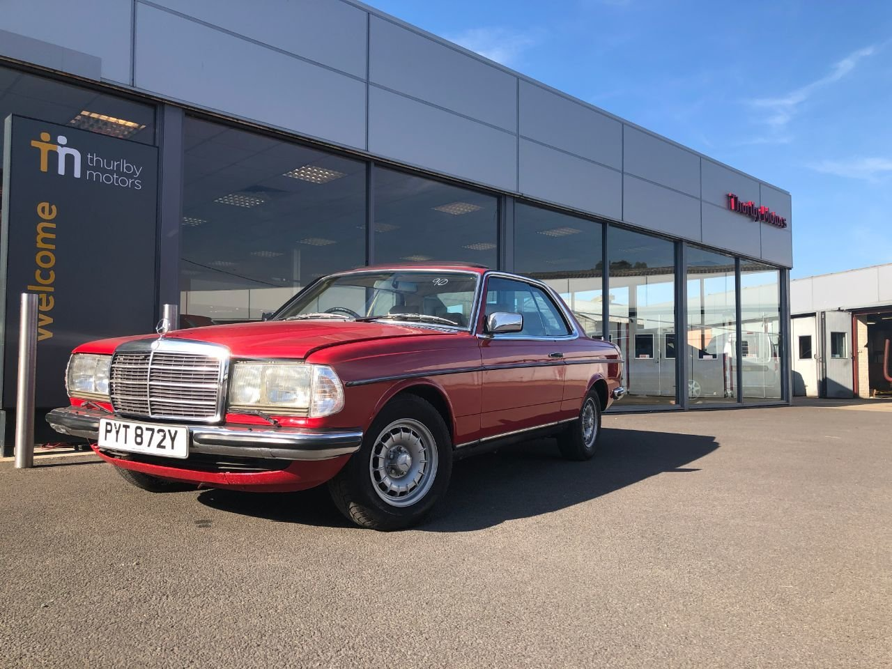 1983 Mercedes 280 Cew Auto For Sale (picture 1 of 6)