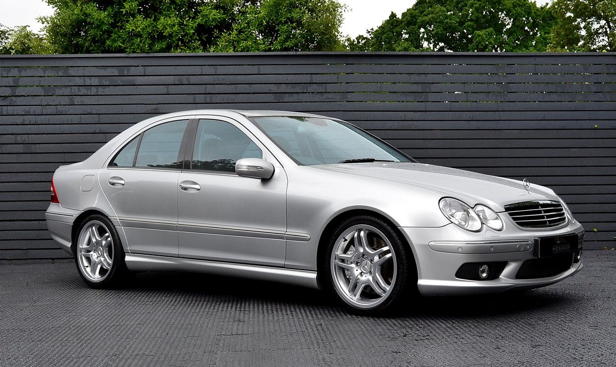 2004 Mercedes C55 AMG SOLD (picture 1 of 6)