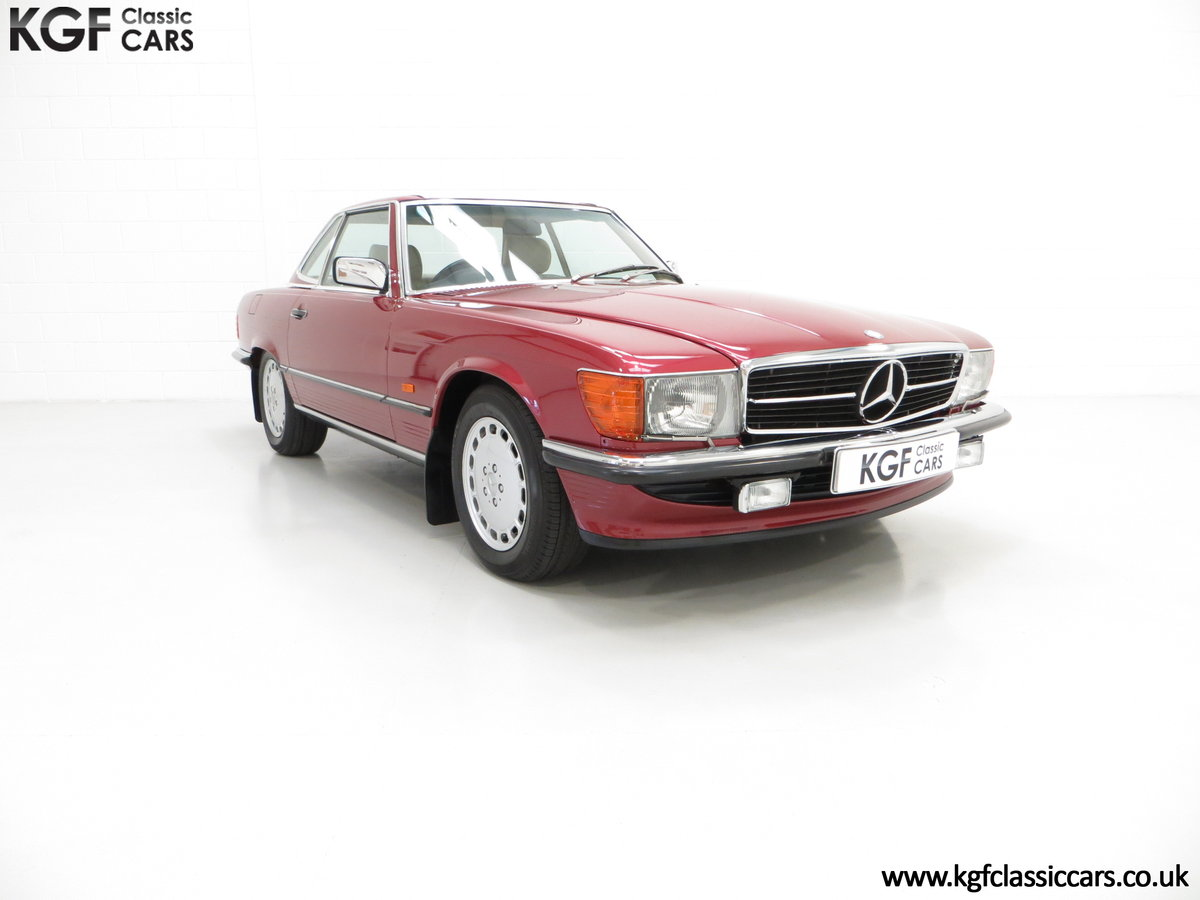 1989 A Mercedes-Benz 300SL R107 with Just 8,983 Miles from New SOLD (picture 1 of 6)
