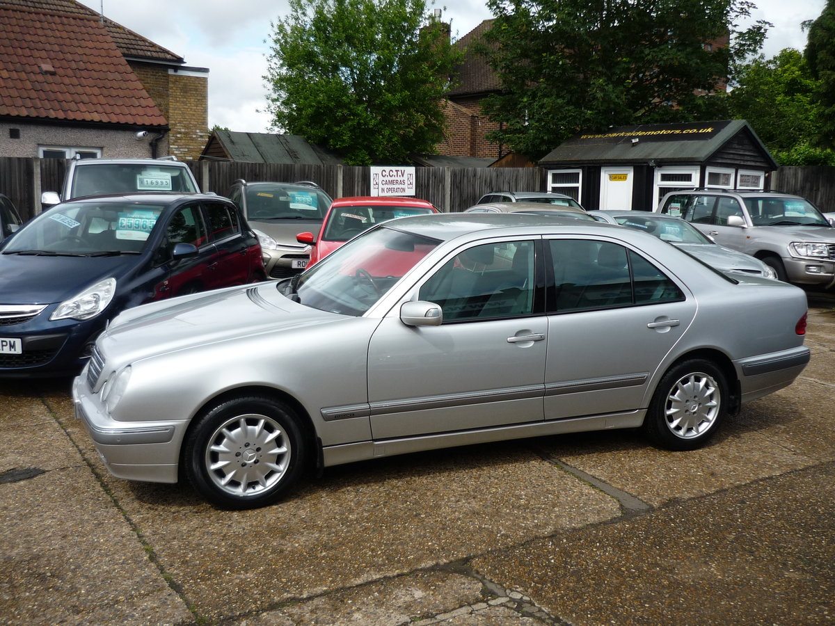 2001 E Class 2.6 V6  E240 Elegance 4dr JUST 20,000 MILES  For Sale (picture 1 of 6)